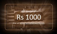 Gift Voucher of Rs 1000