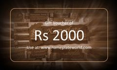 Gift Voucher of Rs 2000