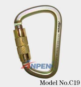 C19 Automatic Twistlock Carabiner Steel