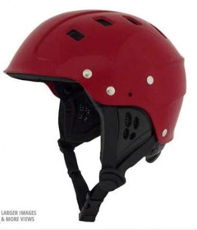 NRS Chaos Helmet - Side Cut Red XL
