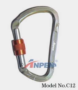 C12 Manual Screwgate Carabiner alumi