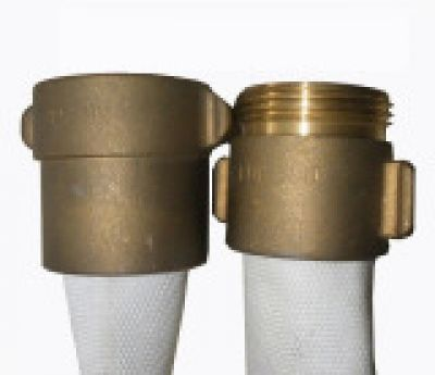 """Fire Hose NH NST Coupling Brass Size 2.5"""""""