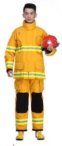 QD Fire Suit Yellow Large 180 DET