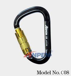 Anpen C08 Twistlock Carabiner Aluminum Alloy