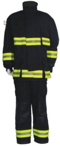 QD Fire Suit Blue LARGE DET 180