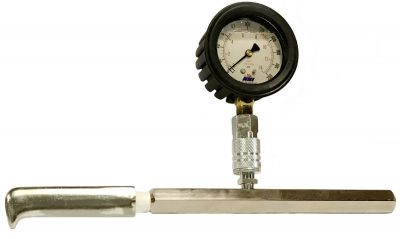 NNI Quick Disconnect Hydrant, Pump Flow Test Pitot Tube Gauge 200 Psi with case