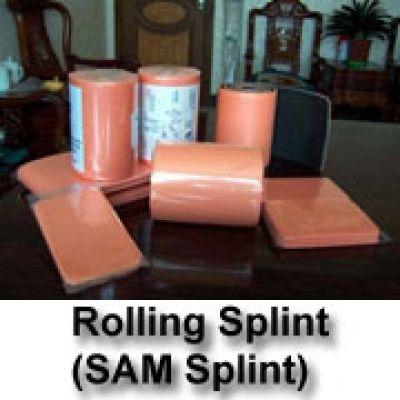 Rolling SAM Splint