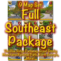 Full Southeast Package - All 9 Maps