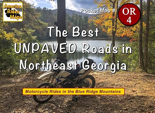 The Best UNPAVED Roads in Northeast Georgia