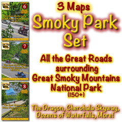 Smoky Park Series - 3 Maps