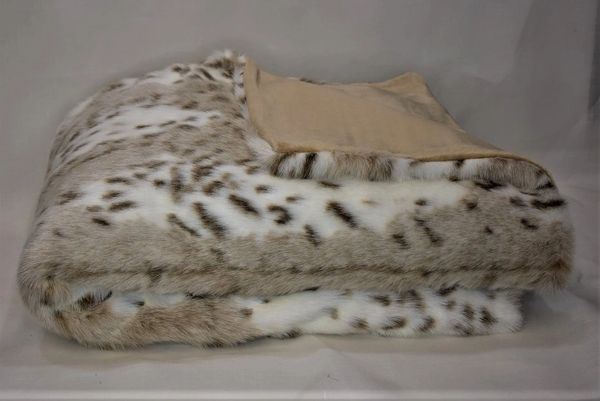 faux fur snow leopard and cheetah throw blanket just the right pillow