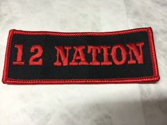 12 Nation Patch