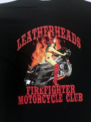 Leatherheads Pin Up Shirt in Black or Grey