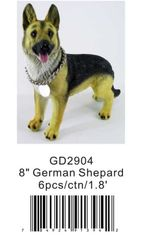 "GD2904 8"" German Shepard"