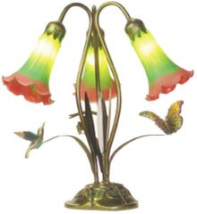 "18""H Triple Animals Lamp"
