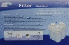 AquaClens AC202C 3-pc Filter Cartridge Set
