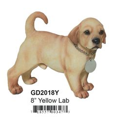 "GD2018Y 8"" Yellow Lab"