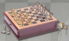 Alloy Golf Chess Set