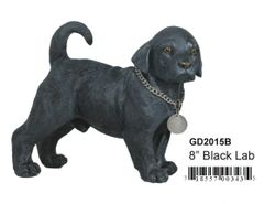 "GD2015B 8"" Poly Black Lab"
