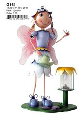 "G161 13.25"" x 11.75"" x 25""H FAIRY SOLAR LIGHT"