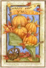 "Welcome Garden Flag for Fall 12""x18"""