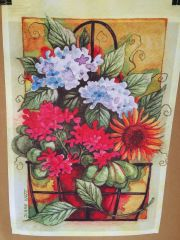 AIE FLOWER GARDEN FLAG
