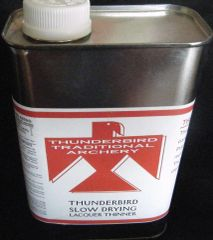 Thunderbird Slow Drying Lacquer Thinner Quart