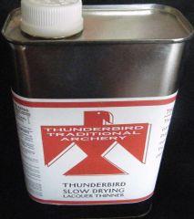 Thunderbird Slow Drying Lacquer Thinner Quart