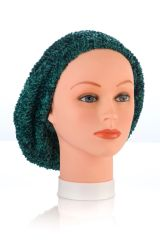 Chenille UNLINED Snood-Dark Green (AT04DGU)