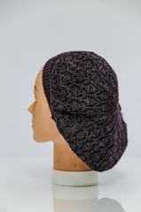 Ultra Lightweight Snood - Plum and Grey(AT23PGL)