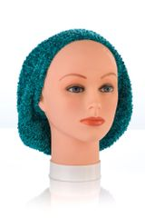 Chenille LINED Snood-Teal (AT04TEL)