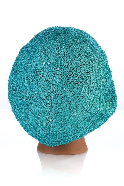 Small Sequin Snood-Teal (AT02TEL)