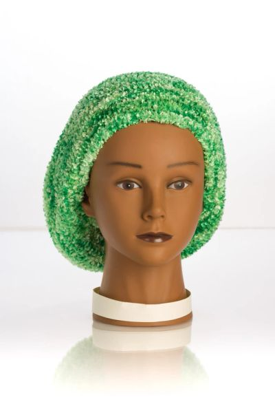 Chenille Shadow LINED Snood-Tree Green (AT05TGL)