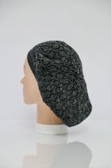 Ultra Lightweight Snood - Black and Charcoal(AT23BCR)