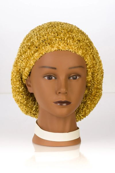 Chenille LINED Snood-Rich Gold (AT04RGL)