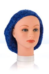 Chenille LINED Snood-Cobalt (AT04CBL)