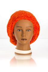 Chenille UNINED Snood-Orange (AT04ORU)