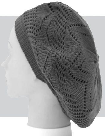 Lighweight Flower Weave Knit