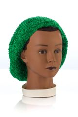 Chenille LINED Snood-Tree Green (AT04TGL)