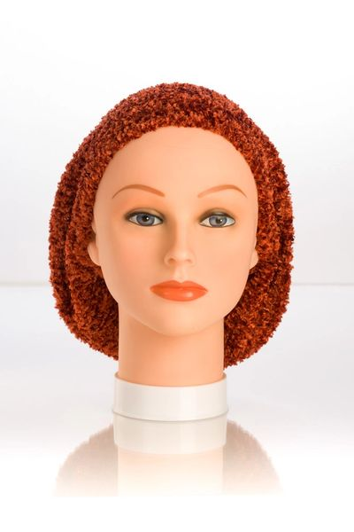 Chenille LINED Snood-Rust (AT04RUL)