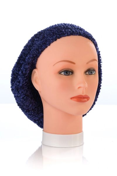 Chenille LINED Snood-Navy (AT04NVL)