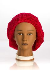Chenille UNLINED Snood-Red (AT04RDU)