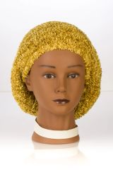 Chenille UNLINED Snood-Rich Gold (AT04RGU)