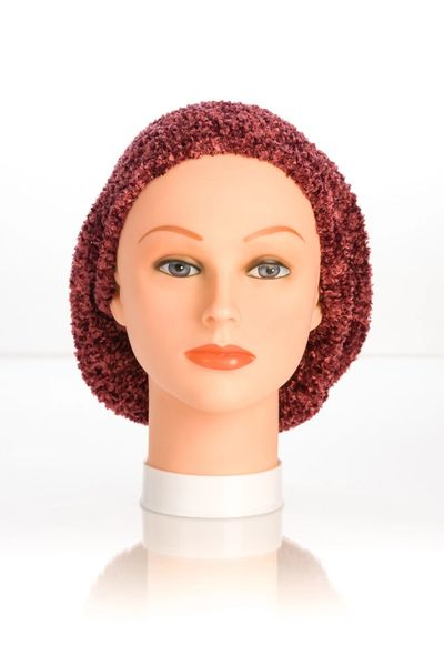 Chenille LINED Snood-Maroon (AT04MRL)