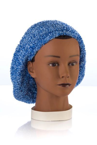 Chenille LINED Snood-Denim (AT04DNL)