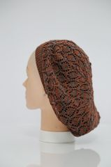 Ultra Lightweight Snood - Rust and Grey(AT23RGL)
