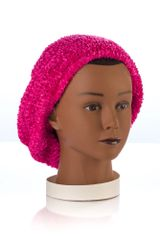 Chenille LINED Snood-Fuchsia (AT04FUL)