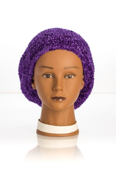 Chenille UNLINED Snood-Violet (AT04VTU)
