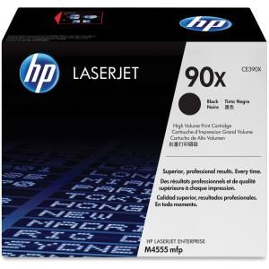 HP 90X BLACK HIGH YIELD LASERJET TONER CARTRIDGE CE390X