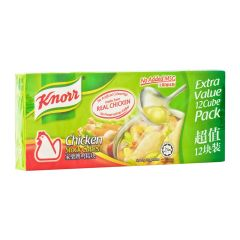 Knorr No Added MSG Chicken Stock Cubes (X12)